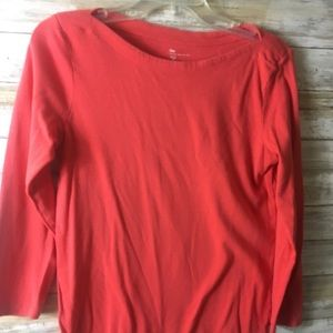 Gap Bowery Super Soft Boat neck top large